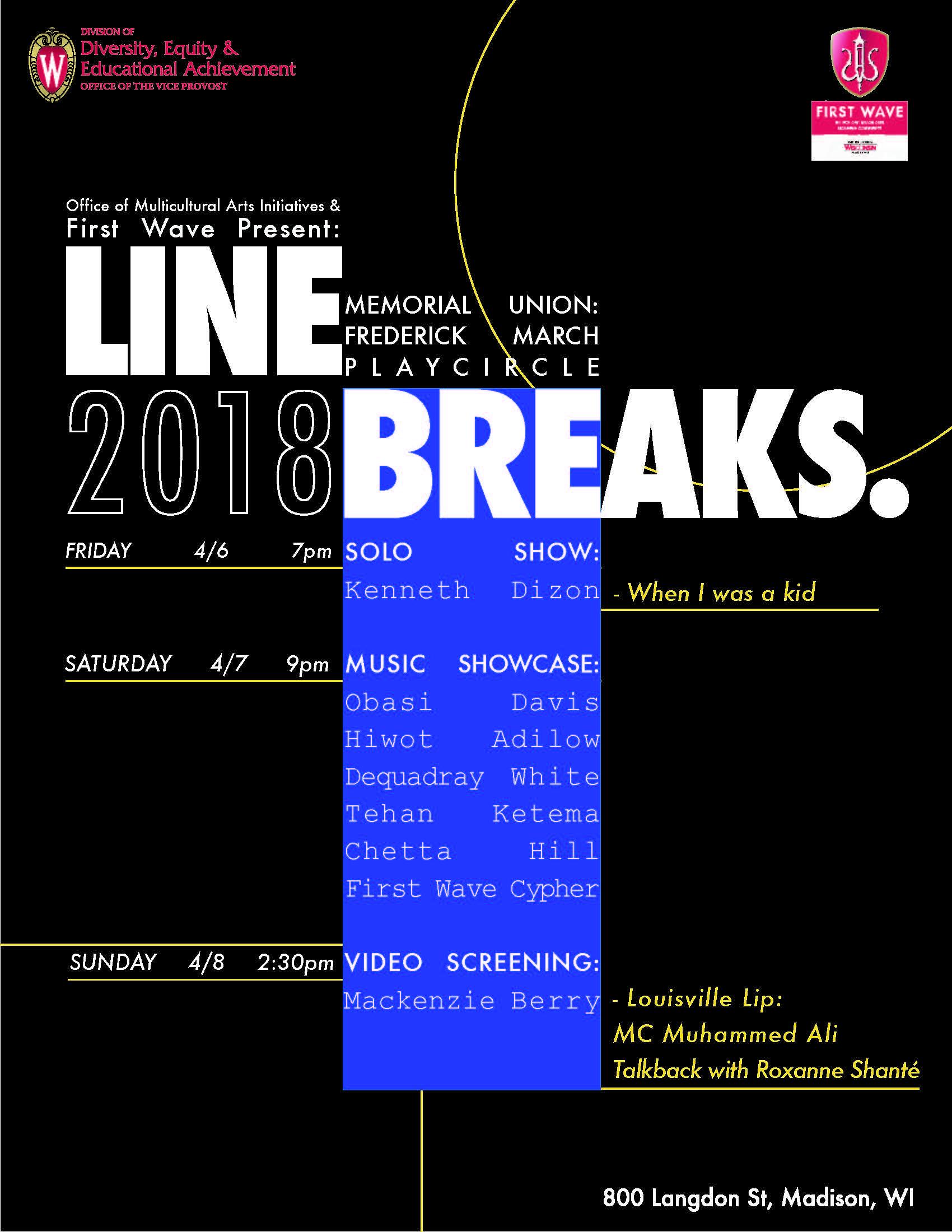 Line Breaks Poster